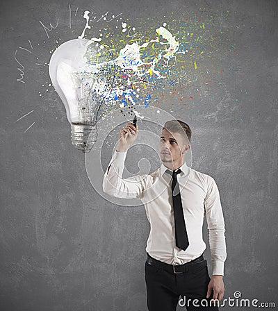 Free Creative Business Idea Royalty Free Stock Photo - 29358565