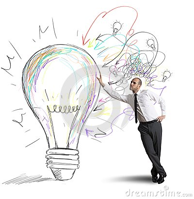 Free Creative Business Idea Royalty Free Stock Photography - 29751277