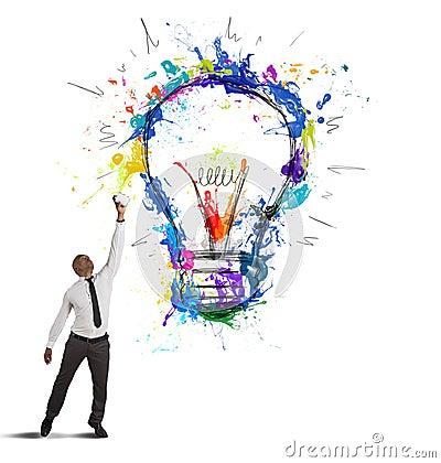 Free Creative Business Idea Stock Photo - 30015540