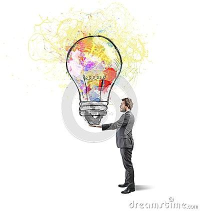 Free Creative Business Idea Royalty Free Stock Image - 37925756