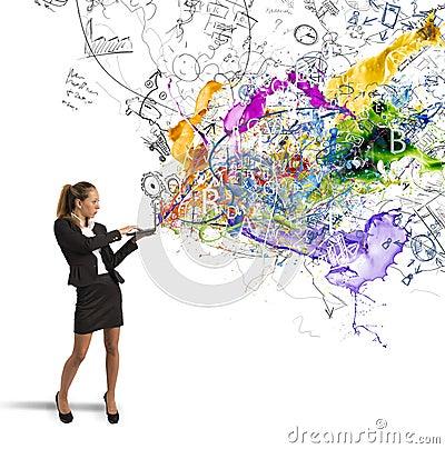 Free Creative Business Idea Stock Photo - 41006550