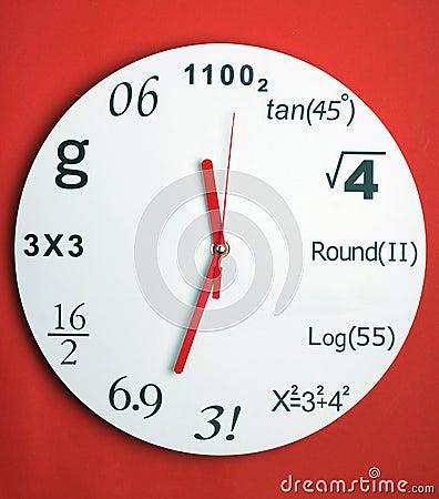 Creative clock