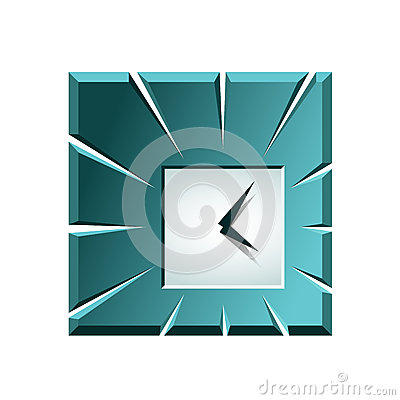 Creative clock icon