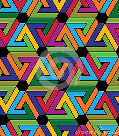 Free Creative Continuous Multicolored Pattern, Rich Motif Abstract Ba Stock Images - 57709364