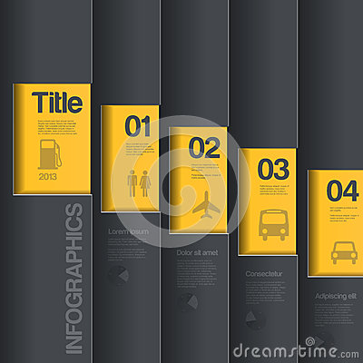 Creative design template. Infographics business st