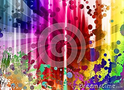 Creative digital background
