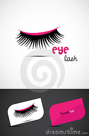 Creative Eye lash Icon