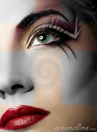 Free Creative Face Paint Stock Photo - 5149460