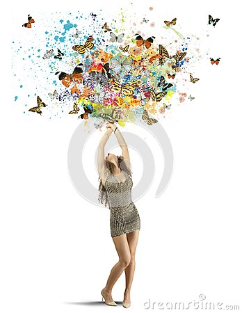 Free Creative Fashion Royalty Free Stock Image - 35508496