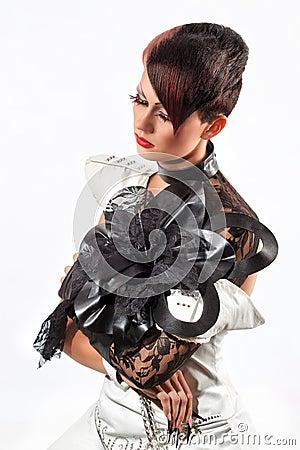 Creative fashion Woman