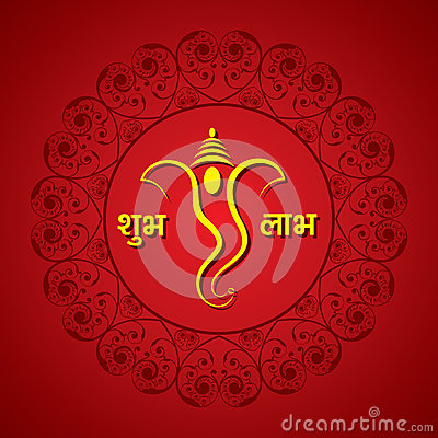 Creative ganesh chaturthi festival greeting card background vector creative ganesh chaturthi festival greeting card background vector illustration m4hsunfo