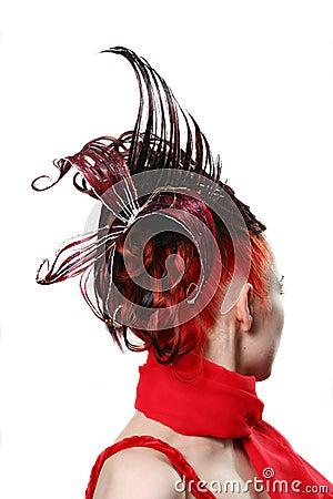Creative hairdress