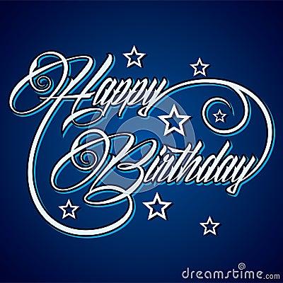 Creative Happy Birthday greeting