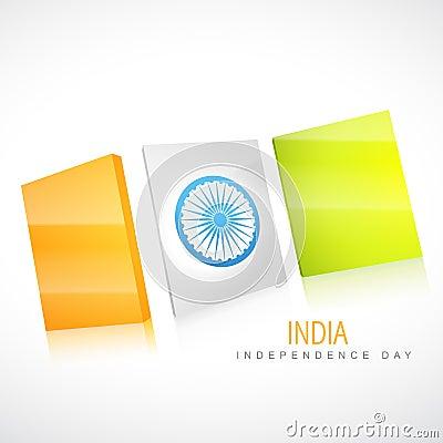 Creative indian flag