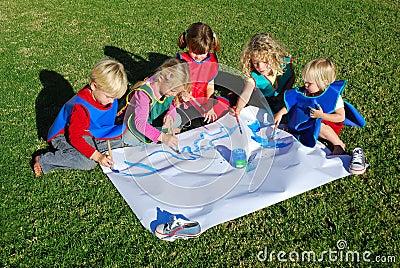 Creative kids team