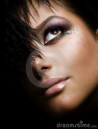 Free Creative Make-up Royalty Free Stock Images - 16352829