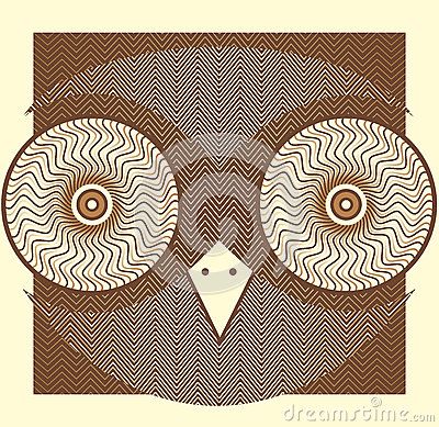 Creative owl picture