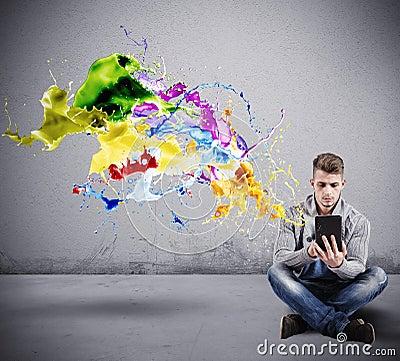 Free Creative Technology Royalty Free Stock Photos - 42766728