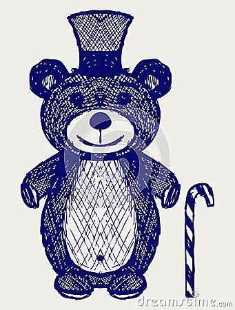 Creative teddy bear
