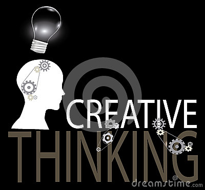 Free Creative Thinking Background Royalty Free Stock Images - 45194749