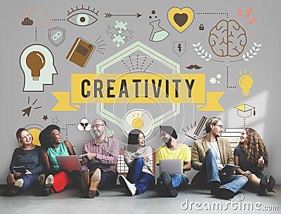 Creativity Ability Aspirations Create Development Concept Stock Photo