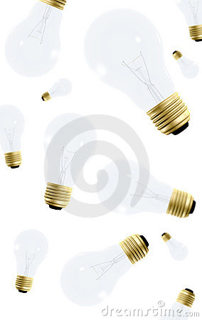 Creativity - lightbulbs