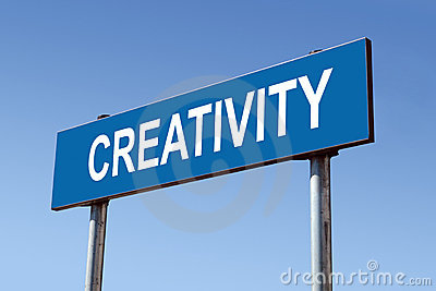 Creativity signpost