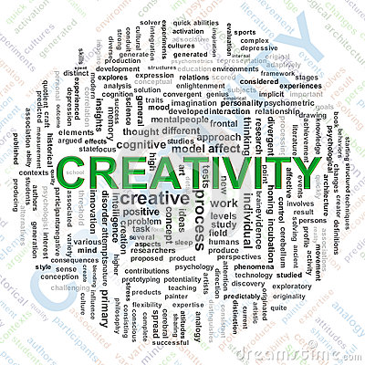 Creativity tags