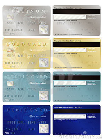 Free Credit And Debit Cards Royalty Free Stock Photos - 4547528