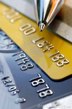 Free Credit Card Background Royalty Free Stock Photos - 1106188