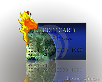 Credit Card Burning