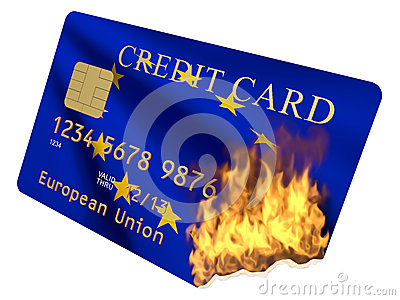 Credit card Euro