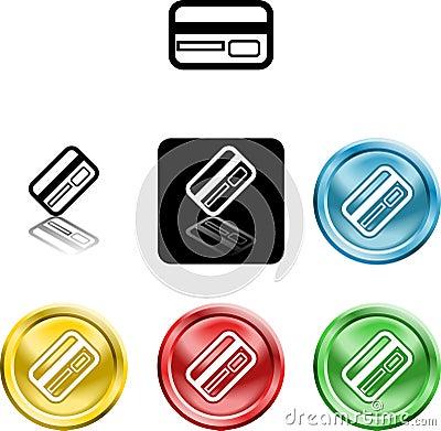Credit card icon symbol