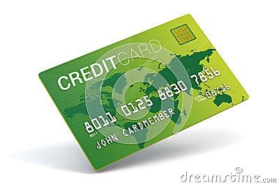 Credit card imitation