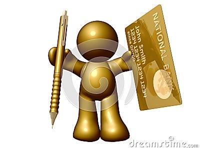 Credit card online application