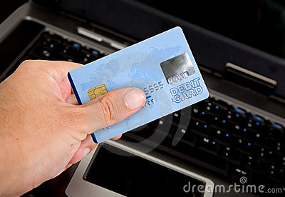 Credit card online payments