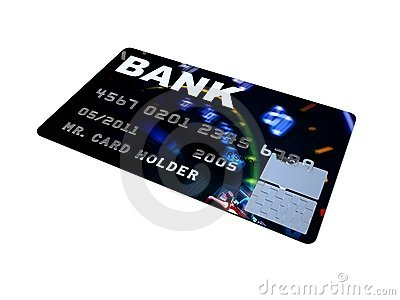 Credit card platinum closeup pictures