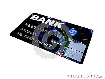 Credit card platinum closeup pictures