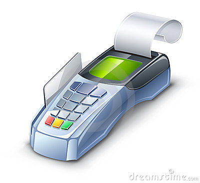Credit card reader
