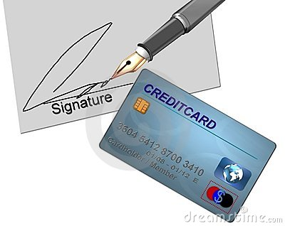 Credit Card Signature