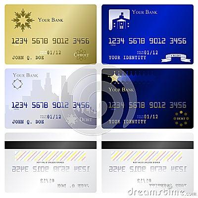 credit card templates royalty free stock photo image 15109325