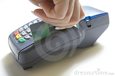 Credit Card Terminal Swipe