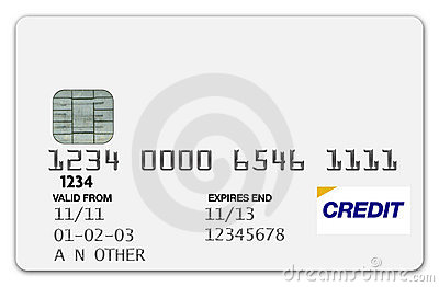 Credit Card White