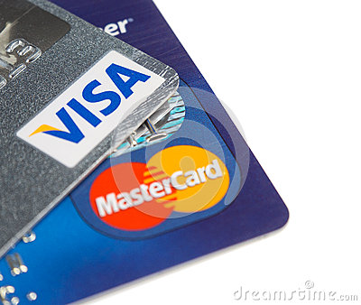 Credit cards Editorial Photo