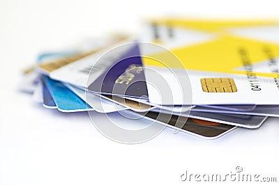 Credit cards together