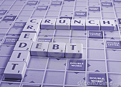 credit crunch and debt
