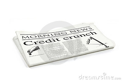 Credit crunch headline