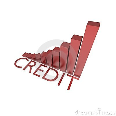 Credit growing chart