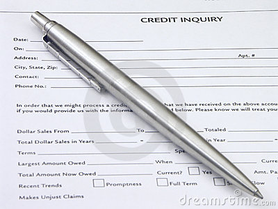 Credit Inquiry