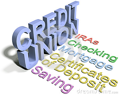 Credit union financial business services